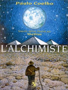 The Alchemist by Paulo Coelho in French.
