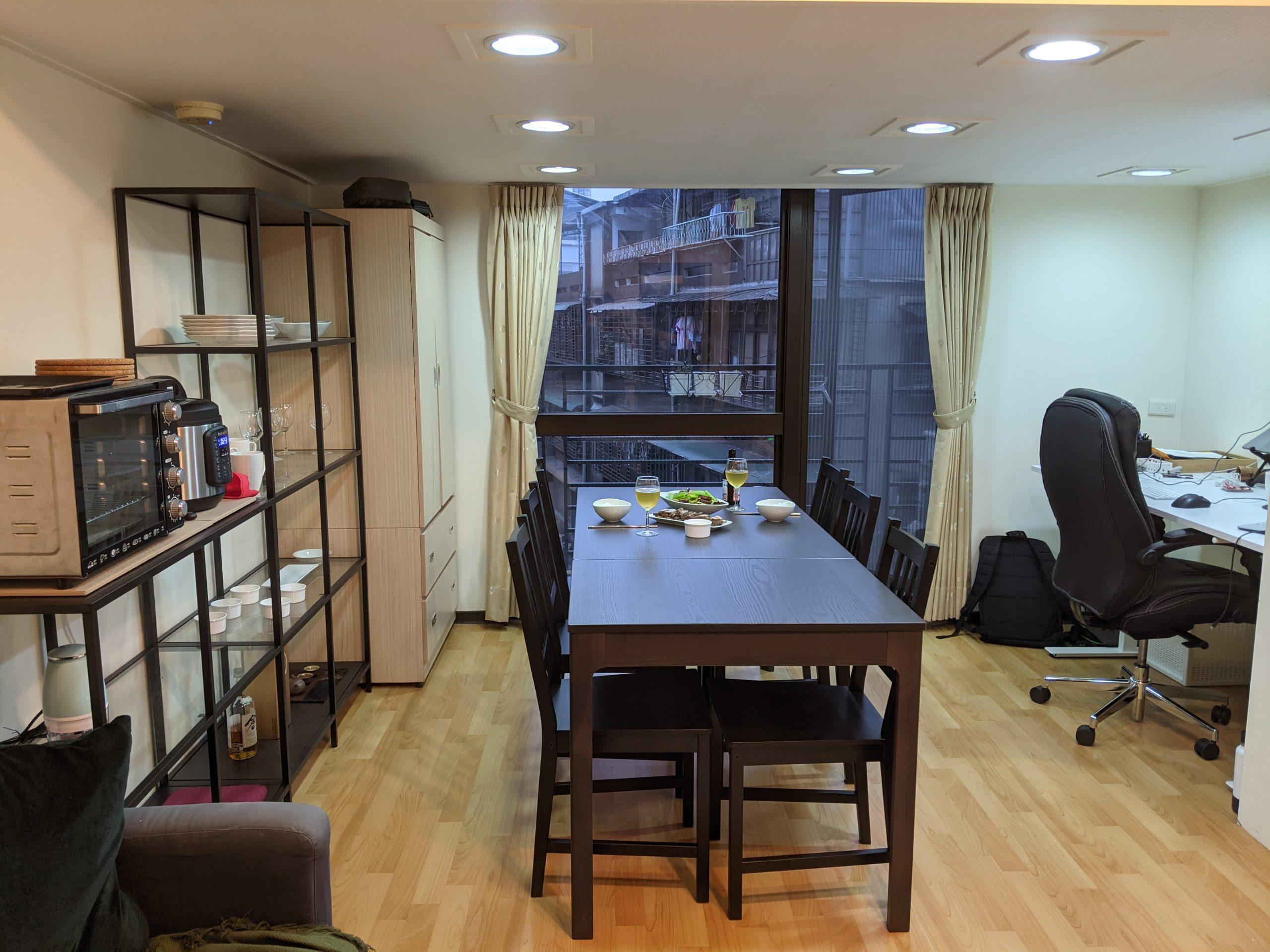 My apartment in Da'an, Taipei